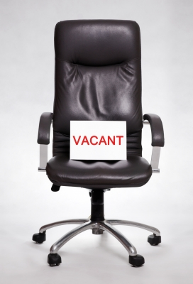 chair vacant